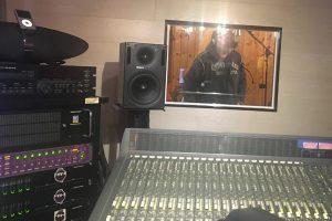 la tresca in studio di registrazione